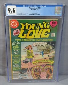 YOUNG LOVE #125 (White Pages, Highest Graded) CGC 9.6 NM+ DC Comics 1977 Romance