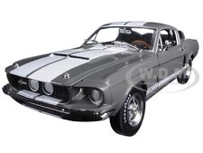 1967 FORD SHELBY MUSTANG GT350 GRAY 50TH ANN. LTD 1002pc 1/18 AUTOWORLD AMM1060