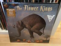 The Flower Kings Waiting For Miracles Vinyl Lp Orange Limited to 100 Copies SEAL