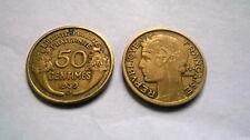 50 CENTIMES CTS MORLON 1939B  FRANCE  BON ETAT