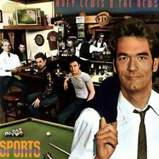 Huey Lewis and The News - Sports - audio cassette tape