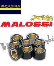7722 - 8 RULLI MALOSSI PER VARIATORE 20X12 GR. 12 YAMAHA 250 X CITY - X MAX