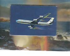 VARIG Brazil airlines issued Boeing 707   postcard