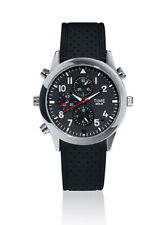 Time Berlin Classic Video Audio Camera Men's Watch Black Rubber Strap Analogue