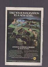 (-0-) DUNGEONS AND DRAGONS ROLE PLAY GAME 1970'S  APPROX A5 ADVERT   (-0-)