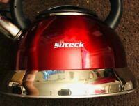 Tea Kettle Whistling Tea Pot 3.2 Qt Stainless Steel