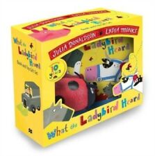 WHAT THE LADYBIRD HEARD BOOK & TOY GIFT