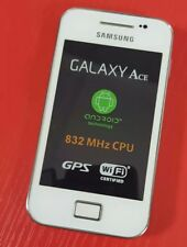 New Samsung Galaxy Ace GT-S5830I -Boxed Ceramic White Smartphone-2Years Warranty