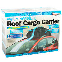 458L Water Resistant Roof Cargo Carrier Bag Car & Van Box Storage Travel SWRB9