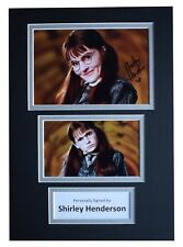 Shirley Henderson Signed Autograph A4 photo display Harry Potter Film COA