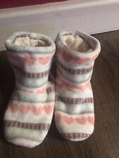 Ladies Slippers Boots Size Medium