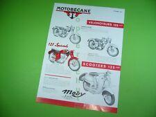 406KA2 Prospekt (1961): Motobécane Velomoteurs, Scooters 125, Motocyclettes 175