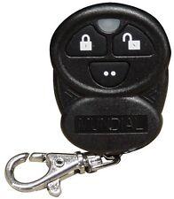 Omega 433-01b Transmisor de reemplazo para mundial-3 3 Botones Negro