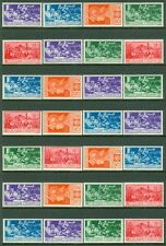 ITALY : 1930. Sassone #280-85, A18-20. 10 sets. All Fresh & VF, MNH. Cat €1,750.