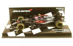 Mclaren Honda MP4-31 No.22 Austrlian Gp Formula 1 2016 (Sarah Button)