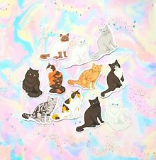 30 Pack Paper Realistic Cats/Kittens Pet Stickers