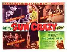 Gun Crazy Poster 02 Metal Sign A4 12x8 Aluminium
