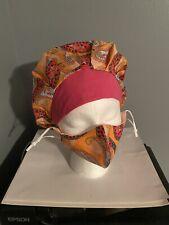 scrub cap bouffant with Mask