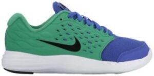 Neuf Nike Lunarstelos Ps PARAMOUNT Bleu Vert/Noir 844970401 Enfants Boy Taille