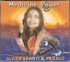 Oliver SHANTI & FRIENDS: MEDICINE POWER Slow Changes Shamboo Wokantonka CD NEU