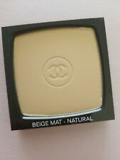Chanel Purete Mat Shine Control Powder Spf 15 Beige Mat- Natural Brand New