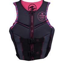 NEW Womens Hyperlite Pro V Pink Black Life Jacket Vest LARGE L