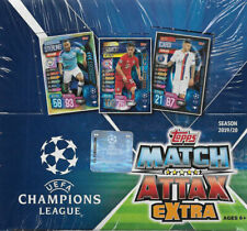 2019 2020 Topps UEFA Soccer EXTRA Edition Match Attax Display Box 30 Pack Box
