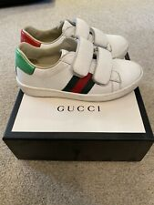 Boys Gucci Trainers size 27