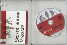 Sports Massage (DVD 2007) - Molly Verschingel- Insert- REGION FREE - VERY GOOD!
