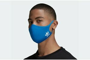Blue New adidas Face Mask Cover (3 Pack) Large ✔IN HAND ✔SHIPS ASAP