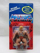 MOTU,Vintage,HE-MAN,PROMOCIONAL,Masters of the Universe,MOC,Sealed,Spanish **