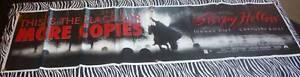 Johnny Depp Sleepy Hollow 69x18 Vinyl Banner Poster - Tim Burton Film (1999)