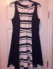 NWT ELLE Pleated Fit & Flare Dress size 8