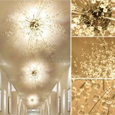 LED Deckenlampe Kristall Deckenleuchte Kronleuchter Wohnzimmer Leuchte 60cm DHL~