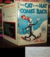 Dr. Seuss THE CAT IN THE HAT COMES BACK  1st Edition 1st Printing