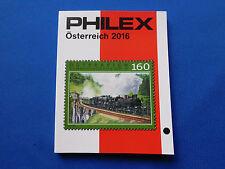 Briefmarken-Katalog  Philex  Österreich  Marken 2016  6,50 Euro