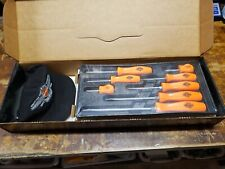 Snap On 95th Harley Davidson Anniversary 8 Piece Screwdriver Set SDDX80HDX