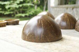 Natural 100% coconut shell Bowl Eco friendly Coconut Rice Decoration Handmade
