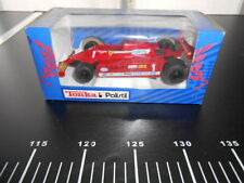 TONKA POLISTIL FERRARI F1 Blue Box New
