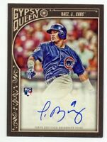 2015 Topps Gypsy Queen JAVIER BAEZ Rookie ON-CARD RC AUTO AUTOGRAPH Chicago Cubs