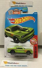 '15 Dodge Challenger SRT #109 * KMART Only Green * Hot Wheels 2016 * F5