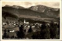 Oberstaufen Allgäu Ansichtskarte ~1930/40 Panorama mit Hochgrad Rindalphorn u.a.