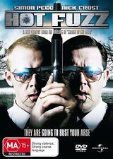 Hot Fuzz (2007) Simon Pegg - NEW DVD - Region 4
