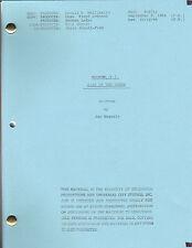 """MAGNUM, P.I. show script """"Kiss Of The Sabre"""""""
