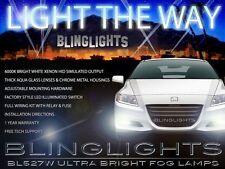 2011 2012 Honda CR-Z Xenon Halogen Fog Lamps Driving Light Kit + Harness Switch