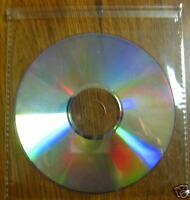 600 SUPER CLEAR CD/ DVD POLY SLEEVE, SEAL ON FLAP JS96