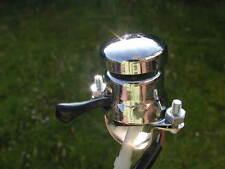 one new chrome Horn / Dip / Kill SWITCH + black flex -clamp on Lucas type 31563