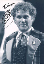 COLIN BAKER Signed 12x8 Photo  DR WHO & THE DALEKS   COA