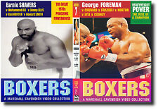 GEORGE FOREMAN & EARNIE SHAVERS  | Historic Boxing DVD