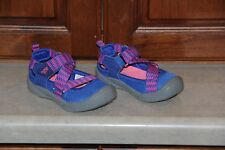 Toddler Girl Oshkosh Blue and Pink Sandals size 6